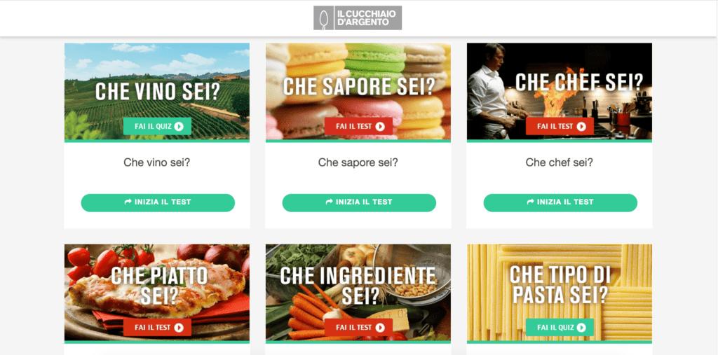 Il Cucchiaio d\'Argento, La Nuova Piattaforma Quiz per chi ...